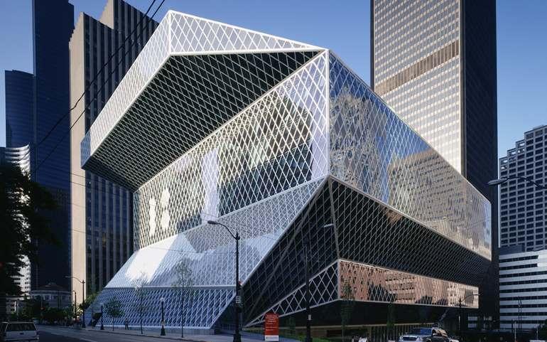 Архитектурные постройки в Сиэтле
