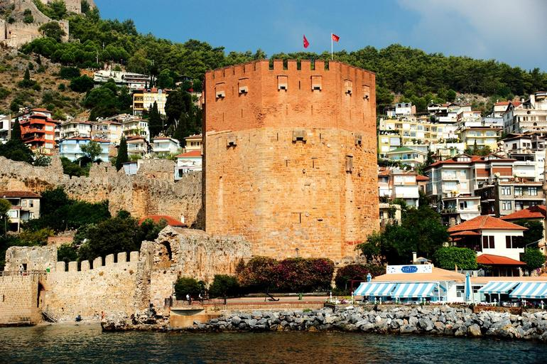 Башня Кызыл-Куле XIII века постройки