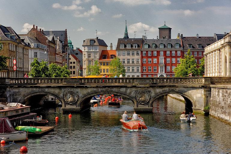 Дания, город Копенгаген