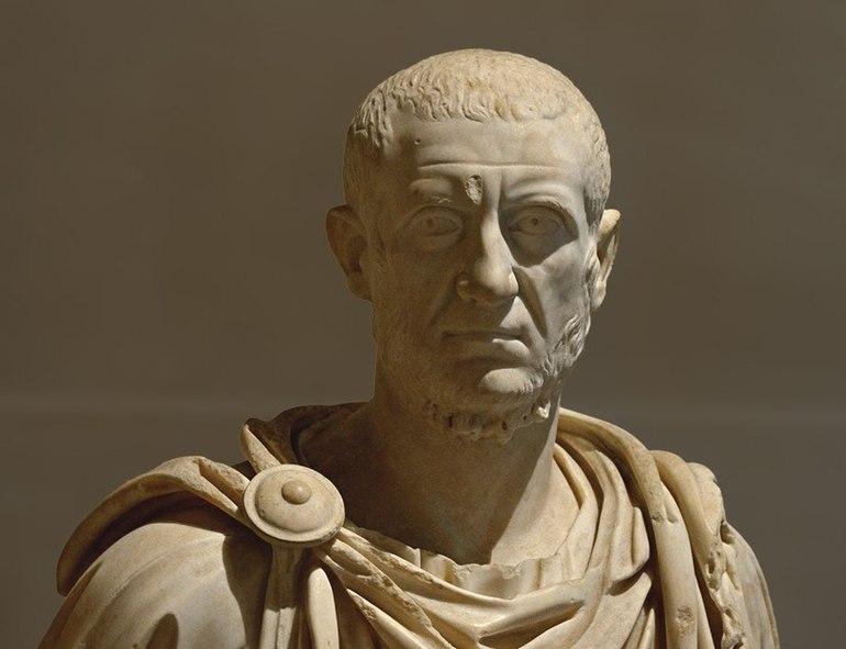 Древнеримский историк Тацит,