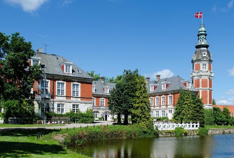 Город Фоборг в Дании