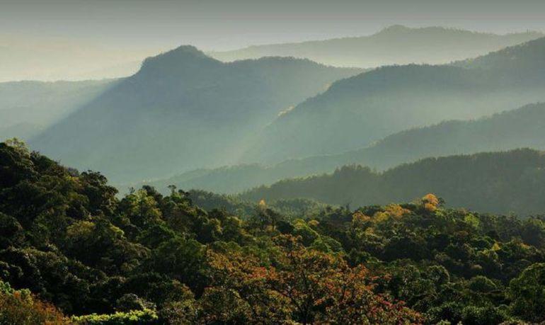 Горы в тайланде