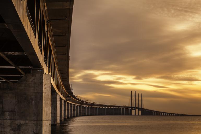 История строительства Эресуннского моста