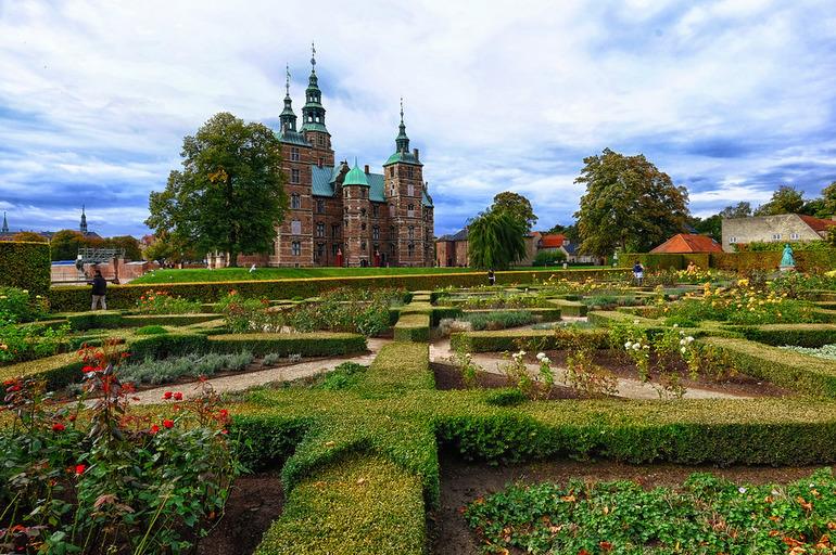 Королевский сад в Дании