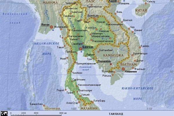 Столица Тайланда 🥝 город в Тайланде, Таиланд какая страна