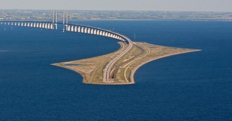 Надводный фрагмент моста