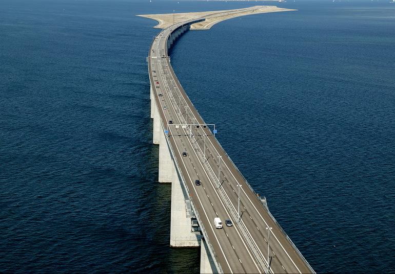 Передвижение по эресуннскому мосту