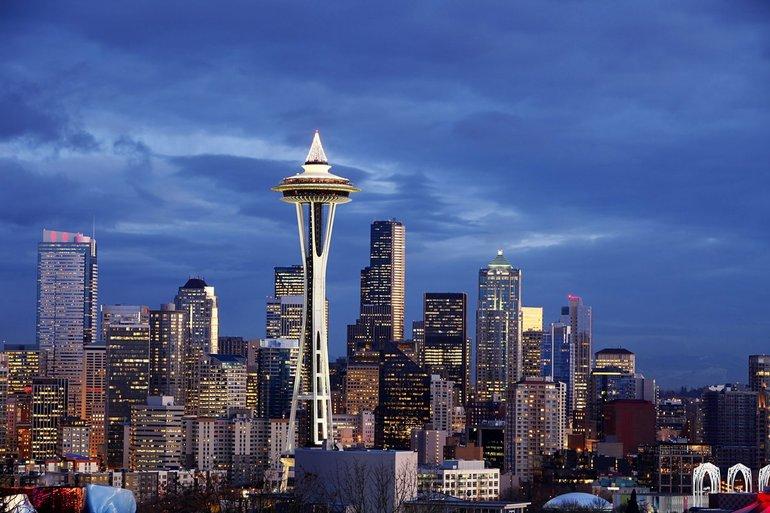 Природные, климатические особенности города Сиэтла